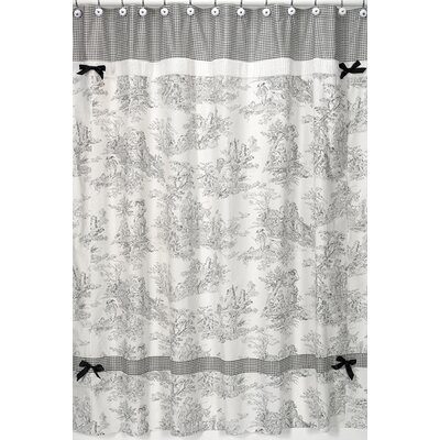 Toile Cotton Shower Curtain