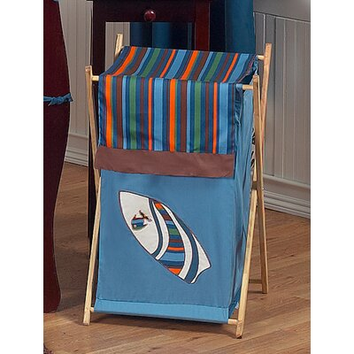 Sweet Jojo Designs Surf Blue Laundry Hamper