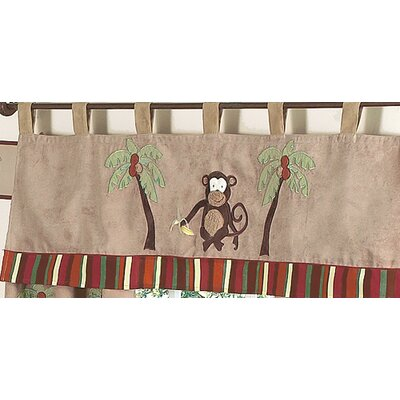 Sweet Jojo Designs Monkey Curtain Valance