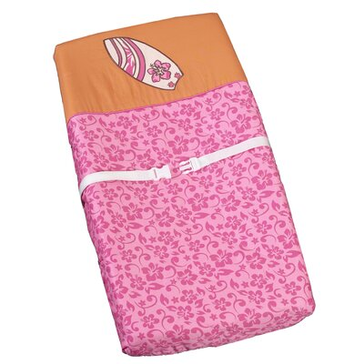 Surf Pink Collection Changing Pad Cover