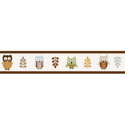 Sweet Jojo Designs Owl Collection Wall Paper Border