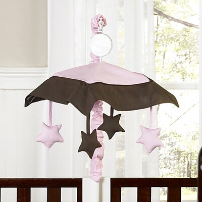 Sweet Jojo Designs Hotel Pink and Brown Collection Musical Mobile