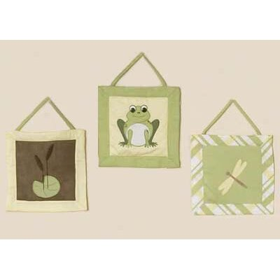 Sweet Jojo Designs Leap Frog Collection Wall Hangings