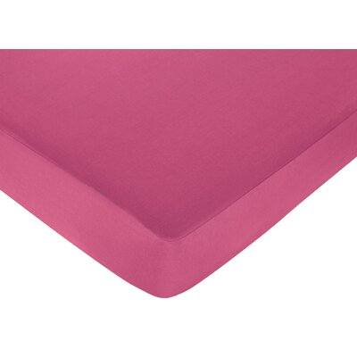 Hot Dot Fitted Crib Sheet