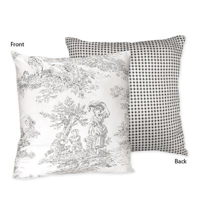 Sweet Jojo Designs French Toile Decorative Pillow