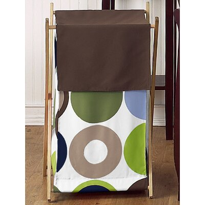Sweet Jojo Designs Designer Dot Laundry Hamper
