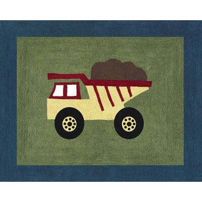 Sweet Jojo Designs Construction Collection Floor Rug