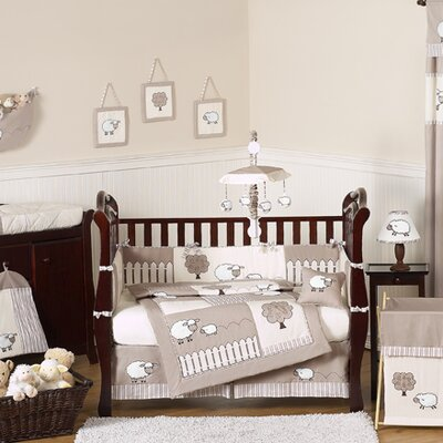 Sweet Jojo Designs Lamb 9 Piece Crib Bedding Set