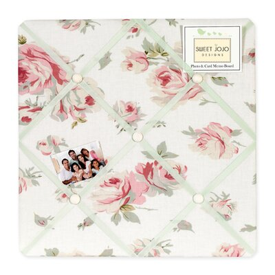 Sweet Jojo Designs Riley's Roses Collection Memo Board