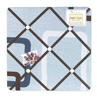 Sweet Jojo Designs Geo Blue Collection Memo Board