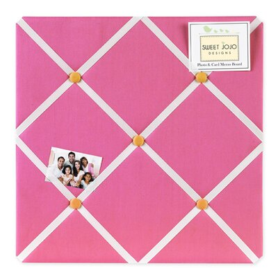 Butterfly Pink and Orange Collection Memo Board