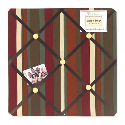 Sweet Jojo Designs Monkey Collection Memo Board