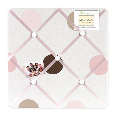 Mod Dots Pink Collection Memo Board