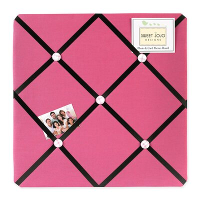 Soccer Pink Collection Memo Board