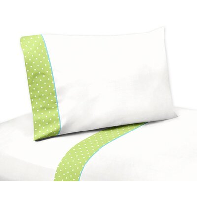 Hooty Turquoise and Lime Sheet Set