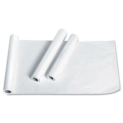 "Medline Deluxe Smooth Exam Table Paper, Deluxe Crepe, 21"" X 125', 12 Rolls/Carton"
