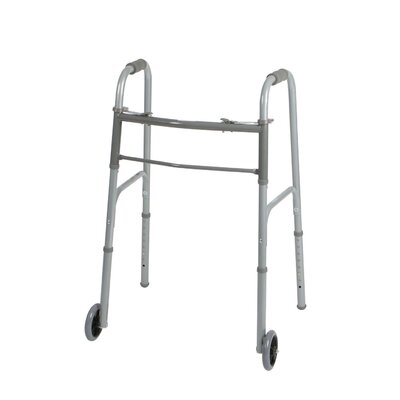 Medline Two Button Folding Walker