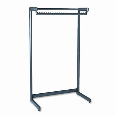 Quartet® Single-Side Coat Rack with Shelf