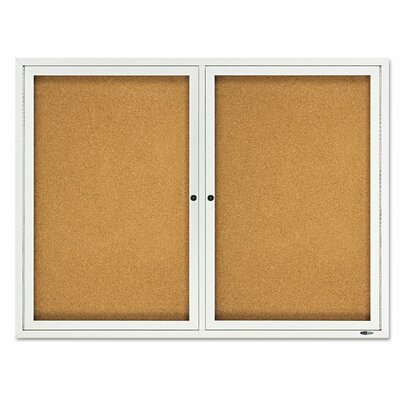 Quartet® Enclosed Outdoor Bulletin Board
