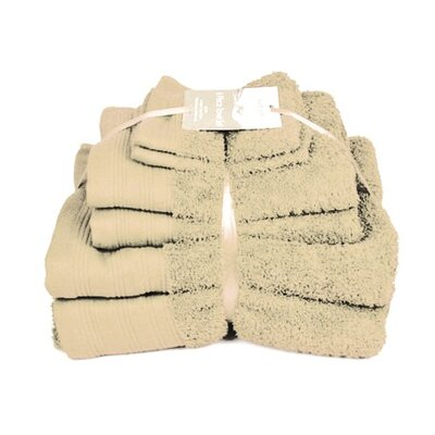 Sabichi 6 Piece Towel Bale in Vanilla