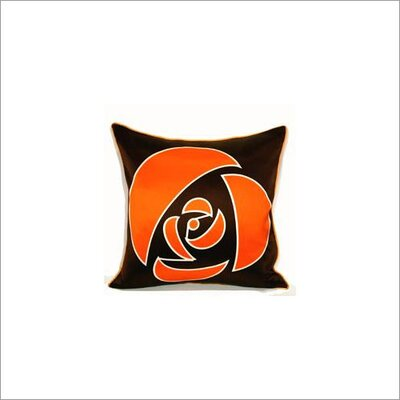 Plush Living Rose Silk Pillow Cover
