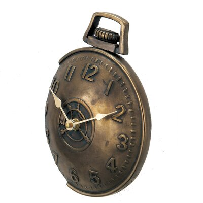 New Haven Off The Wall Pocket Watch in Antique Bronze