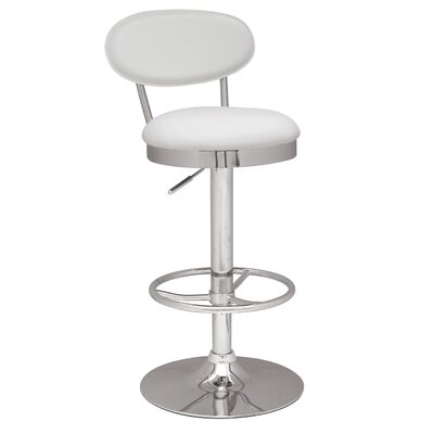 Chintaly Imports Swivel and Adjustable Height Stool