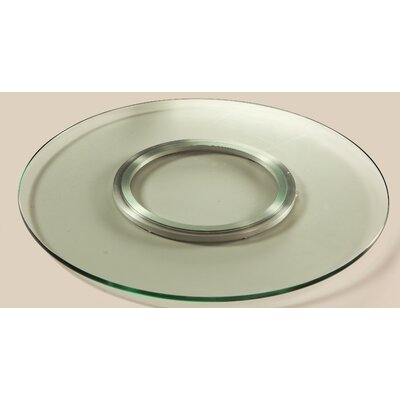 Chintaly Imports Sandwich Glass Lazy Susan Sandwich