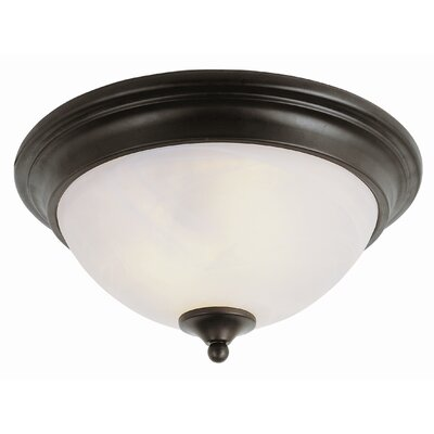 "TransGlobe Lighting 14"" Flush Mount"