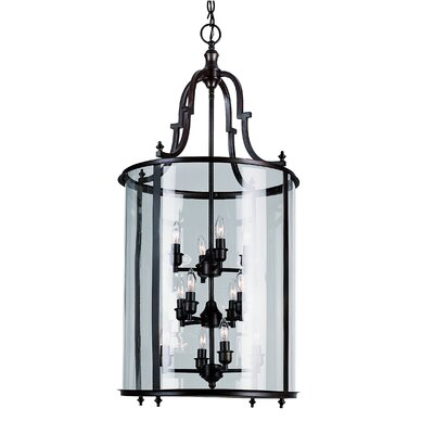 TransGlobe Lighting 12 Light Foyer Pendant