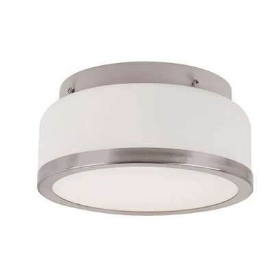 TransGlobe Lighting 2 Light Flush Mount