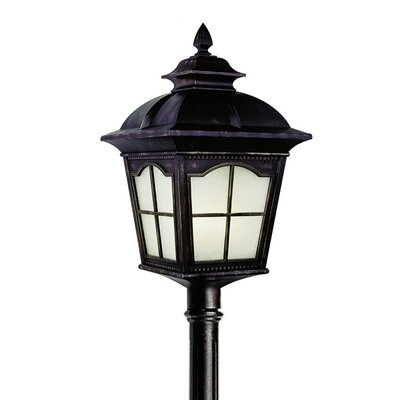 "TransGlobe Lighting Outdoor 1 Light 9"" Post Lantern Set"