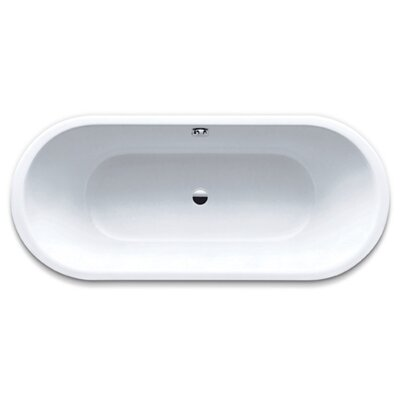 "Kaldewei Centro Duo 18.5"" x 66.93"" Oval Bath Tub in White"