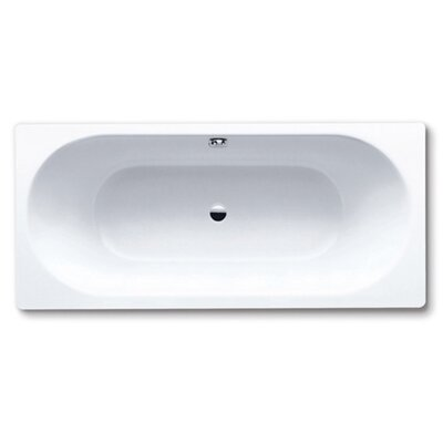 "Kaldewei Centro Duo 18.5"" x 70.87"" Bath Tub in White"