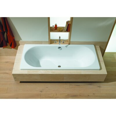 "Kaldewei Klassikduo 16.93"" x 70.87"" Bath Tub in White"