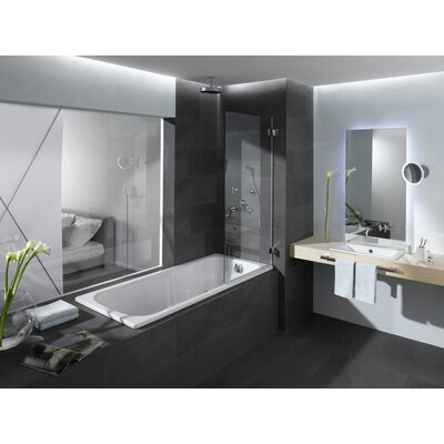 "Kaldewei Dyna 63"" x 28"" Set Bathtub"