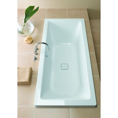 "Kaldewei Conoduo 71"" x 32"" Three Wall Bathtub with Reversible Drain"
