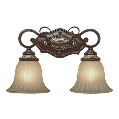Golden Lighting Bristol Place  Vanity Light in New World Bronze