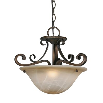 Meridian 3 Light Convertible Inverted Pendant