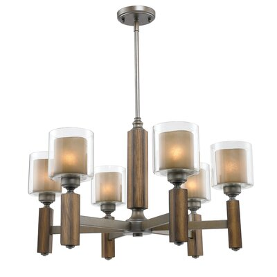 Zura 6 Light Chandelier
