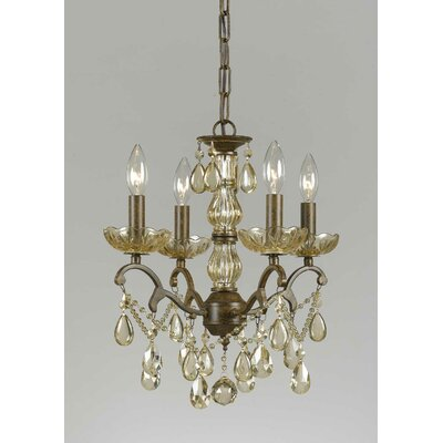 Triarch Lighting Versailles 4 Light Mini Chandelier