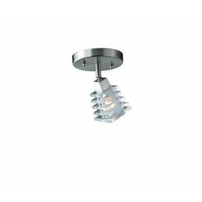 Triarch Lighting Milan  Wall Sconce in Brushed Steel