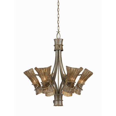 Triarch Lighting Bali 6 Light Chandelier