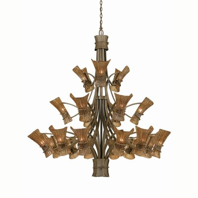 Triarch Lighting Bali 21 Light Entry Chandelier