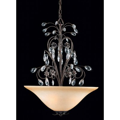 Triarch Lighting Primavera 3 Light Inverted Pendant
