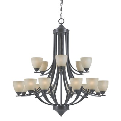 Value Series 240 18 Light Entryway Chandelier