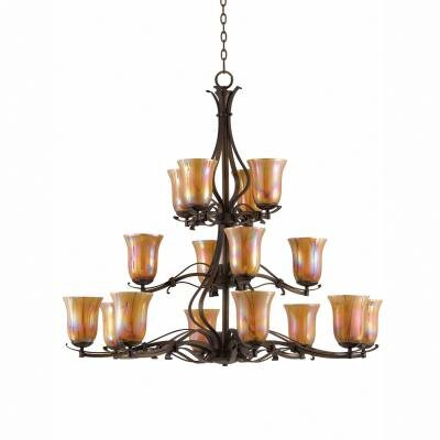 La Perla 16 Light Entry Chandelier