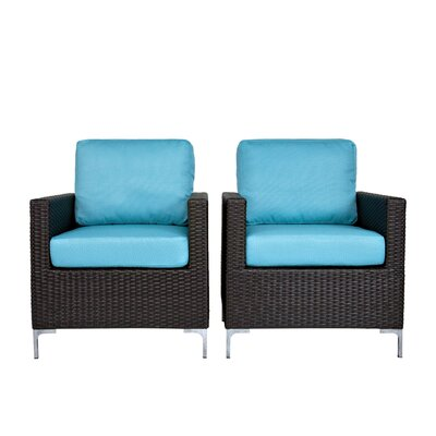 angelo:HOME Napa Srings Chair with Cushions (Set of 2)