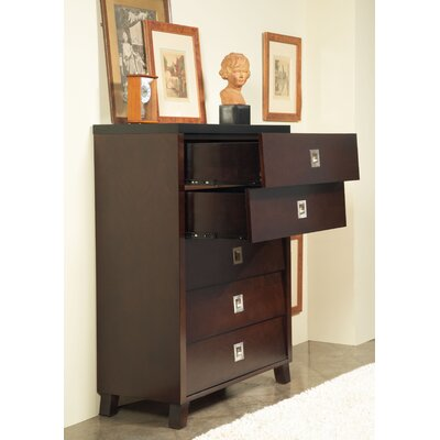 angelo:HOME Marlowe 5 Drawer Chest