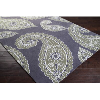 angelo:HOME Hudson Park Turtle Green/Charcoal Gray Rug
